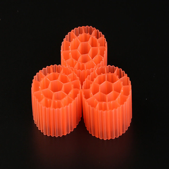 35*18mm  Virgin HDPE Material MBBR Bio Balls For Aquariu MBBR Bio Media PE07 Popular