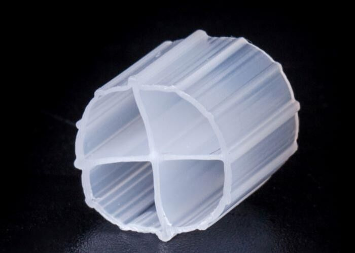 12*9mm MBBR Bio Filter Media With White Color And Virgin HDPE Material