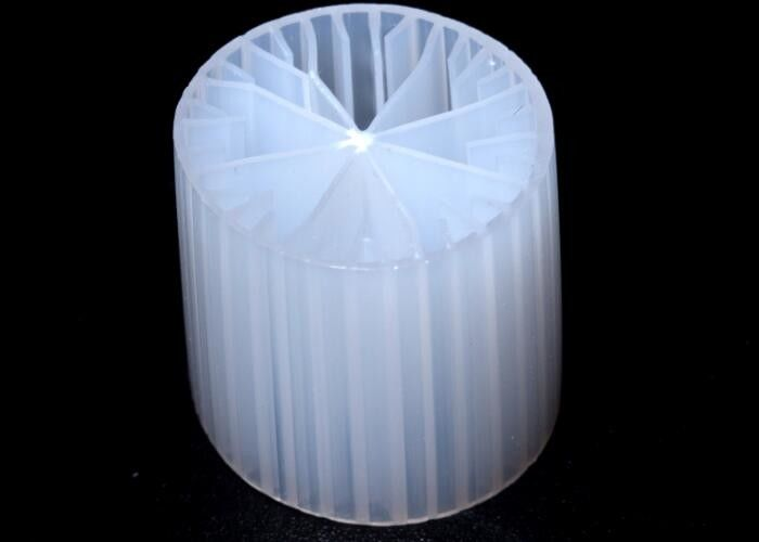 Virgin HDPE Material MBBR Filter Media For Anaerobic Tank 15*15mm Size